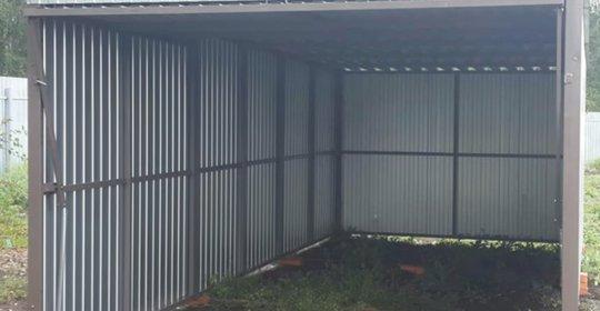 Гаражи из профнастила купить в москве как дешевле утеплить железный гараж