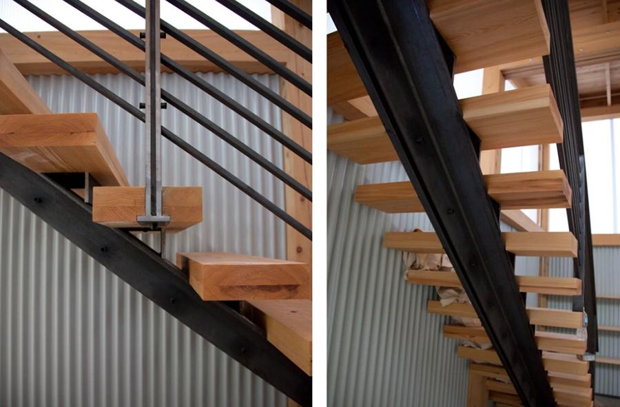 Лестница на двутавре